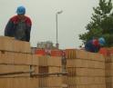 září 2008 - Výstavba obecních bytů