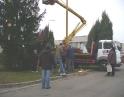 listopad 2008 - Zdobení vánočního stromu