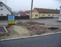 prosinec 2008 - Rekonstrukce návsi
