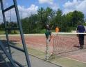 červenec 2009 - Sportování na kurtech