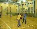 říjen 2009 - Kurz badmintonu