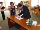 srpen 2011 - svatební obřad