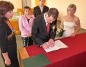 listopad 2011- Svatební obřad