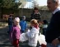 duben 2012 - Návštěva Policie ČR v MŠ Hodonice