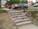 červen 2012 - Oprava schodů