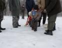 prosinec 2012 - Společné krmení zvěře