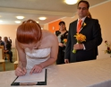 červen 2013 - Svatební obřad