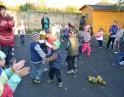 říjen 2013 - Táborák s dýňovými strašidýlky