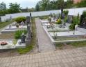 červen 2014 - rekonstrukce chodníků na hřbitově