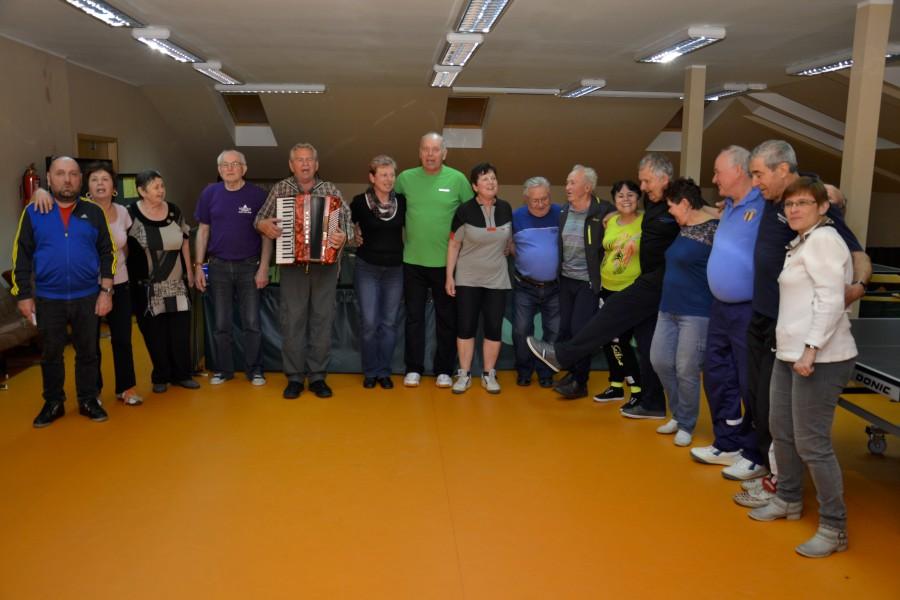4. dubna 2015 - Velikonoční turnaj seniorů ve stolním tenise