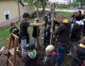 říjen 2015 - Sázení stromu mladými hasiči