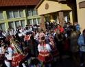 listopad - Martinské hody, sobotní průvod obcemi
