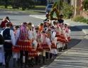 listopad 2017 - Martinské hody, sobotní průvod obcemi