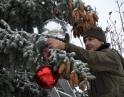 prosinec 2018 - Zdobení vánočního stromu